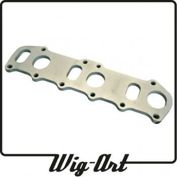 VR6 2.8/ 2.9 cylinderhead flange - stainless steel